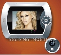 """2.8"""" LCD,take picture+0.3MP camera,digital peephole viewer T106 digital peephole camera +free shipping +drop shipping"""