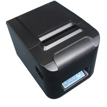 wholesale 3'' 80mm lan+usb port  anto cutter printer thermal printer POS receipt printer ZJ-8320(China (Mainland))
