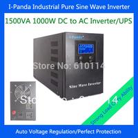 I-P-XD-1500VA 1000W pure sine wave inverter generator for 1kw solar power system AVR UPS