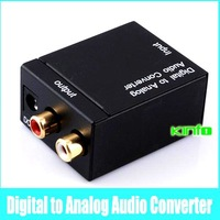 2013 New Digital Optical Coaxial SPDIF to Analog R/L Audio Converter