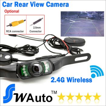 Free shipping Wireless Car Rear Backup Camera Reverse Wide View Vision for GPS with AV IN function parking sensor