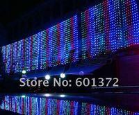 hot sale 6*3M 600pcs LED curtain light Christmas/wedding/party/hotel decoration,led string tree light
