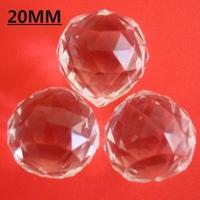 Good quality shinning 20mm crystal chandelier ball , crystal lighting ball