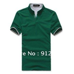 Продажа корейских Мужские рубашки поло короткий рукав футболки для мужчин, мода тонкий хлопок рубашки поло