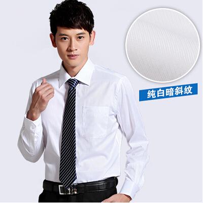 Free Ship Super Quality Turn-Down Collar 100% Cotton Short Sleeve Men White Shirts Size M,L,XL,XXL(China (Mainland))