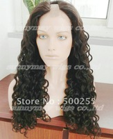 Custom Order  Tight Curl  Brazilain Virgin Hair U Shape Lace Wigs