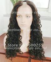 Custom Order  Tight Curl  Brazilain Virgin Hair U Shape Lace Wigs