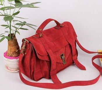 2012 New women's Genuine Leather Suede Covered Gossip Girl Over Flap Envelope Handbag Shoulder Messenger Bag Freeshipping-Q80