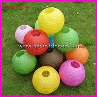 (50pcs/lot) 12''(30cm)  DHL free shipping! wedding lantern, round lantern, wedding decoration, hanging paper lantern