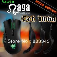 Razer Original Naga 2012 Edition, 5600dpi Razer Precision 3.5G Laser Sensor, Oriignal & Brand new in BOX, Free shipping