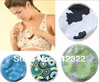 Mix color  Mommy Bamboo Fiber breast pad PUL Washable Breathable Nursing Pads Super Absorbency Stay Dry Ultra Thin
