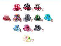 kids fedora hats,children top hat, children Spring/Autumn Fedora Caps, 12kinds in stock free shipping