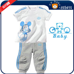 free shipping Pajamas infant Pajamas Sleeper wear suits baby Gifts BabyGop Girls pajamas underwear kids sleepwears 6sets(China (Mainland))
