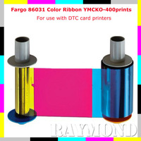 Fargo 86031 YMCKO Color Ribbon for Fargo DTC series card printers