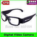 Free Shipping Wholesale And Retail HD 720P 30fps Myopia Digital Video Camera Eyewear Glasses