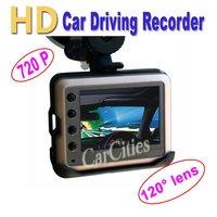 "2.0"" colorful Car DVR,HD Sensor Cycle recording  vehicle dvr,1280*720 Pixels,120 degree lens,SD/MMC Card&HDMI & USB2.0 Interface"