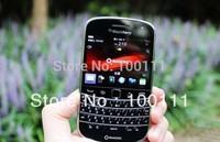 10 PCS/LOT & Original blackberry 9900,unlocked 3g smartphone,QWERTY+touch 2.8inch,WiFi,GPS,5.0MP camera ,free shinpping