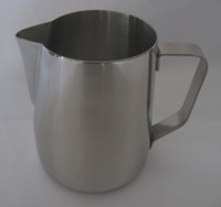 12oz Stainless Steel Milk Pitcher