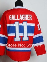#11 Brendan Gallagher Jersey,Ice Hockey Jersey,Best quality,Embroidery logos,Authentic Jersey,Size M--XXXL,Accept Mix Order