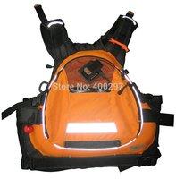 Shakoo Brand kayak life jacket, life vest,PFD,450D MAX Nylon swim vest orange