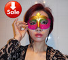 80pcs/lot colorful drawing pretty party mask Venetian Masquerade ball mask festival party supply