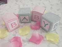 Free shipping---Baby Shower Favors/Wedding Favor Boxes,Hight quality personalized BABY Design Chocolate box