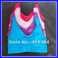 300pcs/lot wholesale COLOR AHH BRA SEAMLESS BRA free DHL shipping