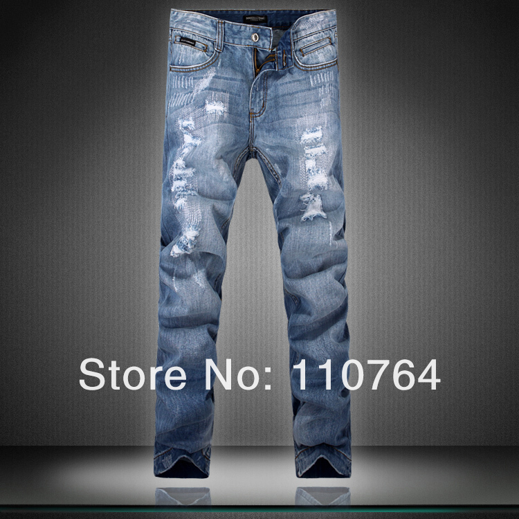 Ripped Designer Jeans For Men - Xtellar Jeans