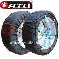 ATLI wholesale  FB Autosock Textile snow sock fabric chain tyre chain for car