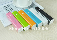 Denko 2600mAh capacity power bank for Iphone/Ipad/MP3/Most smart phones with high quality speaker function