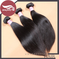 3pcs/lot, malaysian hair straight, natural color, very durable, shipping free