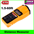 "Free Shipping Hot CP-3007 1.8"" LCD Ultrasonic Distance Measurer with Red Laser Pointer-- Support Drop Shipping"
