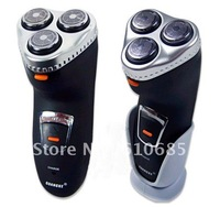 Black  Men 's Washable 3 Heads Electric Shaver Rechargeable Razor trimmer High Quality RSCX-5085