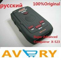 100% original Conqueror X523 radar detector support X-Band ku-band k-band KA-Band Laser VG-2 Free shipping
