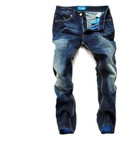 2014 fashion designer brand men jeans denim pants trousers free shipping 9137