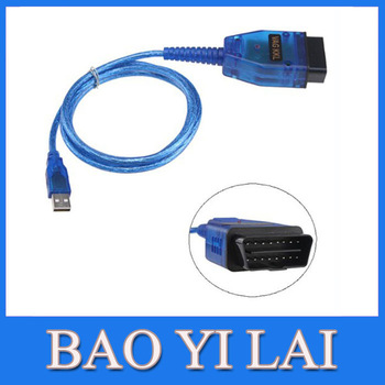 2012 newest Blue VAG COM 409 USB port Cable best price&good quality OBDII OBD II OBD2 Car code scanner Diagnostic tool  Win0002