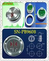 71pcs button  Free Shipping! Elevator parts: Elevator / Lift / Door Push Button, SN-PB960, High Quality