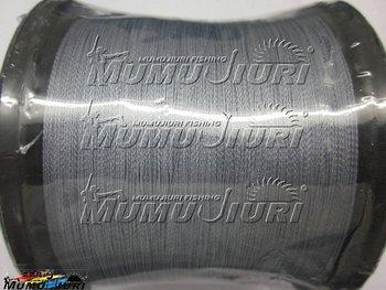 Free Shipping 1 piece 1000M PE BRAID FISHING LINE Thin diameter offers accurate casting  45LB 50LB 60LB 70LB  gray