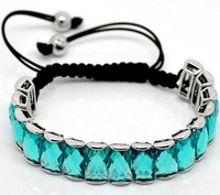 >$10 ,Free Shipping, High Quality with Cheap Price, Shamballa Crystal Square bracelet, 2012 hot sale,high quality &fashion style
