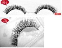 New 30 pairs natural long eyelashes/hand made  100% real  mink hair  eyelashes no 921