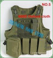 600D oxford military airsoft defense tactical vest