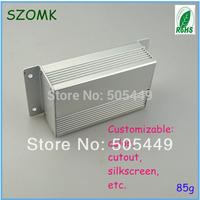 1piece Aluminum extusion enclosure  35x64x100mm  aluminum enclosure for PC B