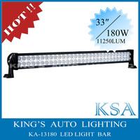 12V & 24V 180W , 34'' rigid led light bar , led offroad light bar for SUV , ATV , Track , led bar light