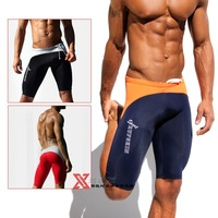 Sexy AQUX Men's Compression Shorts Training Tights Elastic Gym Sports Biking Biker Swimming Jammer