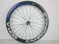 Wholesales! Top Features of the Campagnolo Bora Ultra Two Tubular/Clincher carbon wheels / Wheelset 50mm include hubs / blue