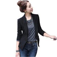 FREE SHIPPING 2014 new spring autumn office lady blazer casual elegant career women's blazer T210