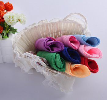 Hot sale 50pcs/lot,25x25cm size,hand towel, microfiber towel,cleaning & washing,quick-dry, solid color, free shipping