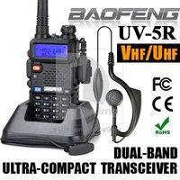 New BAOFENG UV-5R Dual Band Two Way Radio UV5R 128CH VHF 136-174MHz/UHF 400-480MHz Transceiver FM Radio Walkie Talkie 014089
