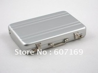 New Aluminium Credit Card Holder / Arrival Password Cipher Box / Wallet Business ID Name Card Holder + Free shipping