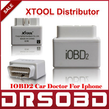 [HOT SALE] iOBD2 OBD2 / EOBD Car Doctor vehicle diagnostic tool communicates with iPhone Smart phones by WIFI / Bluetooth(China (Mainland))